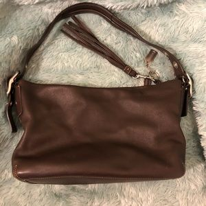 Authentic Coach Brown Leather Purse